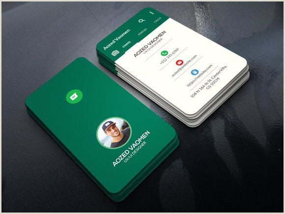 Card Examples Whatsapp Business Card