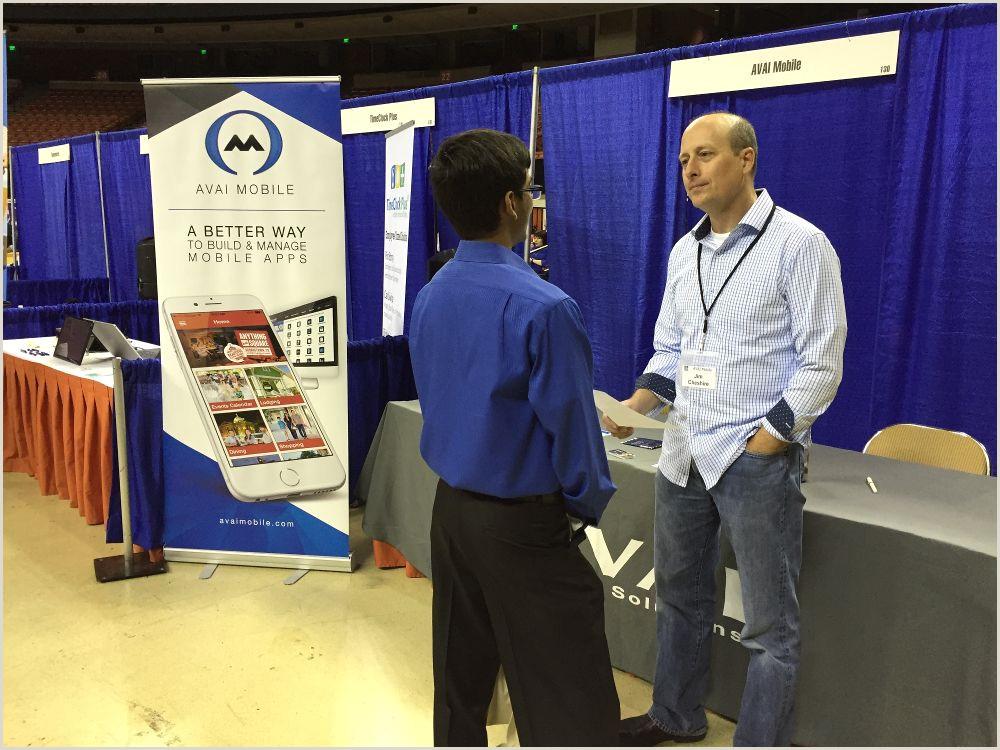 Career Fair Banners Our Cto Jim Cheshire Enjoyi Avai Mobile Solutions