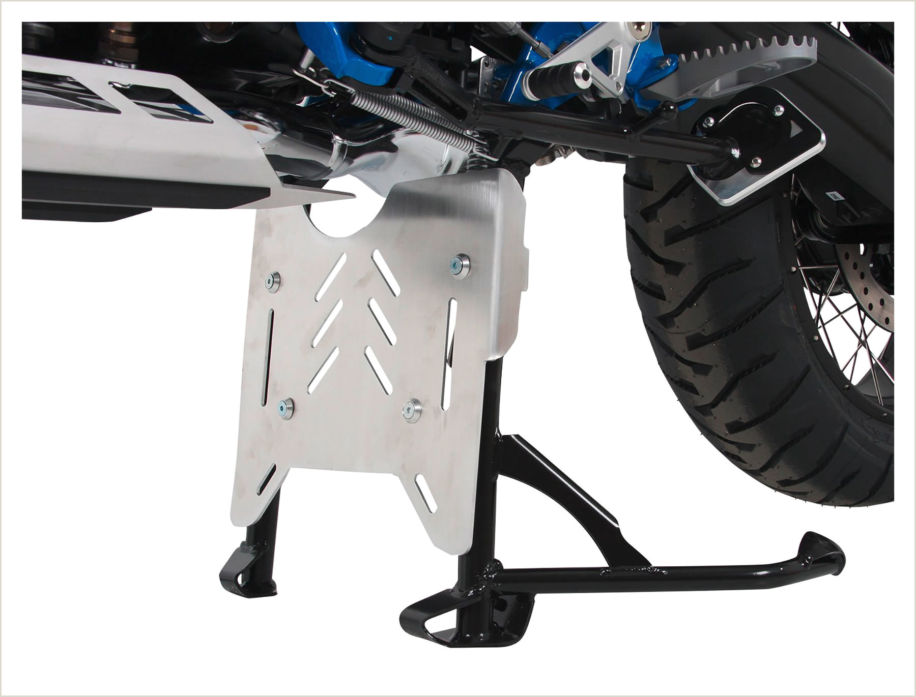 Cheap Picture Stands Hepco&becker Aluminium Protection Plate For Center Stand Bmw R 1200 Gs 13 18