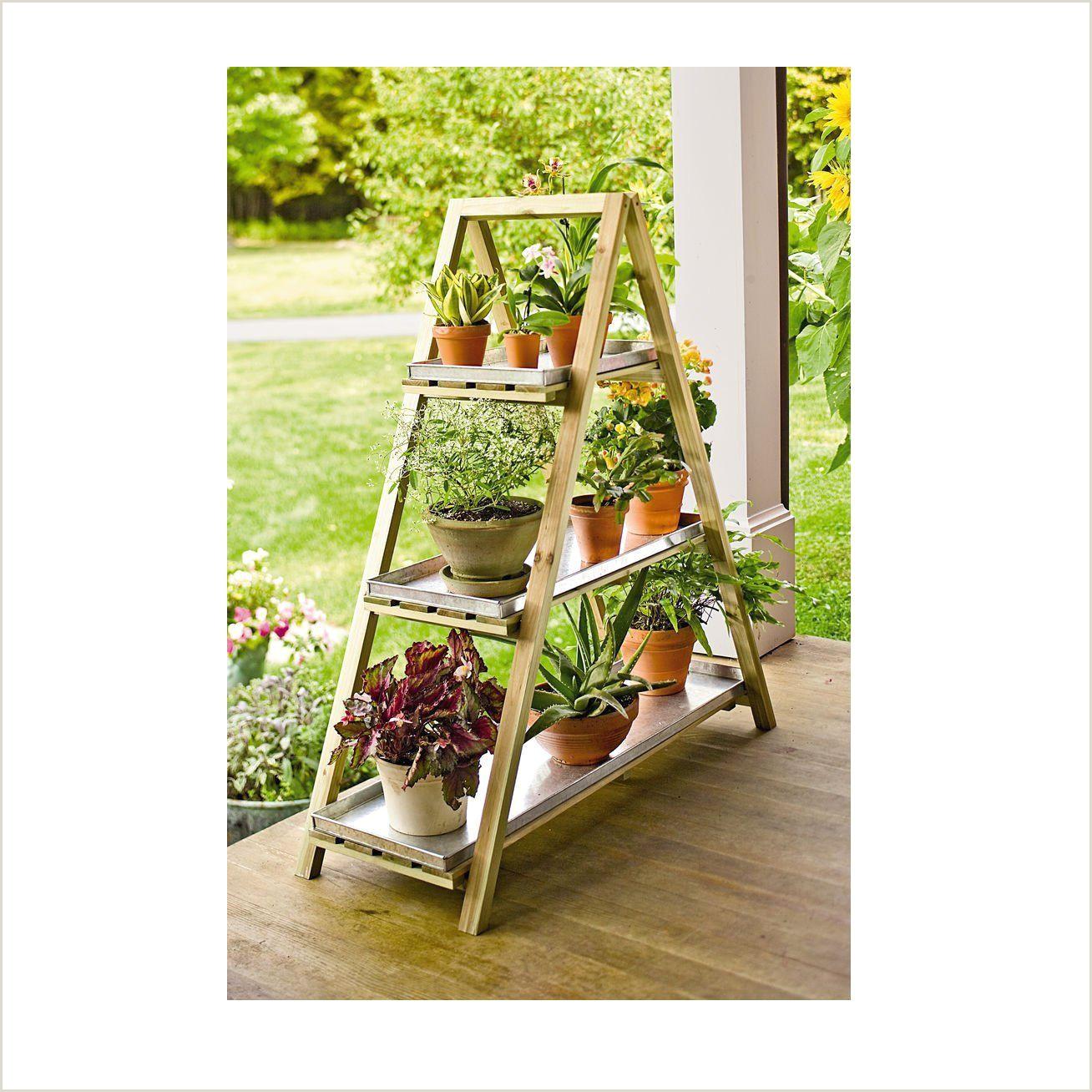 Cheap Picture Stands Sharpex A Frame Solid Wood Garden Planter Shelf Garden Plant