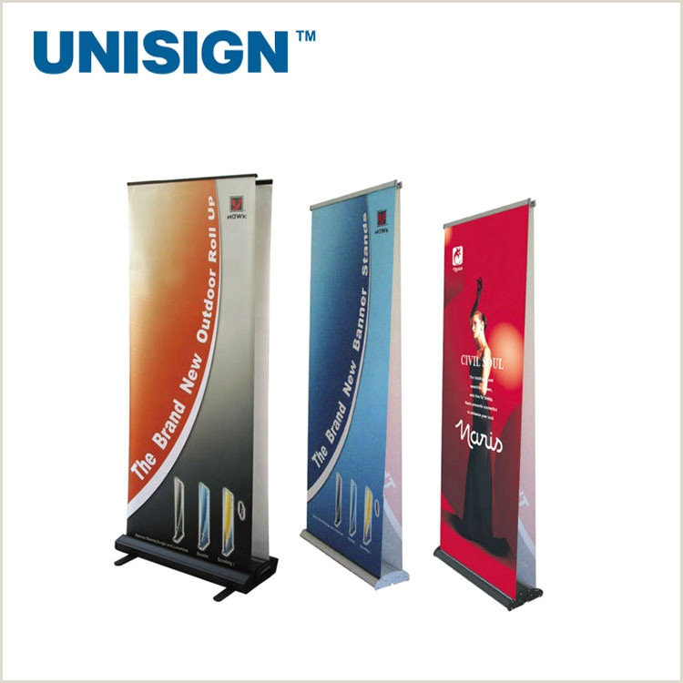 Cheap Retractable Banner 2019 Cheap Retractable Advertising Equipment Scrolling Roll Up Banner Stand View Roll Up Banner Stand Unisign Product Details From Shanghai Unisign