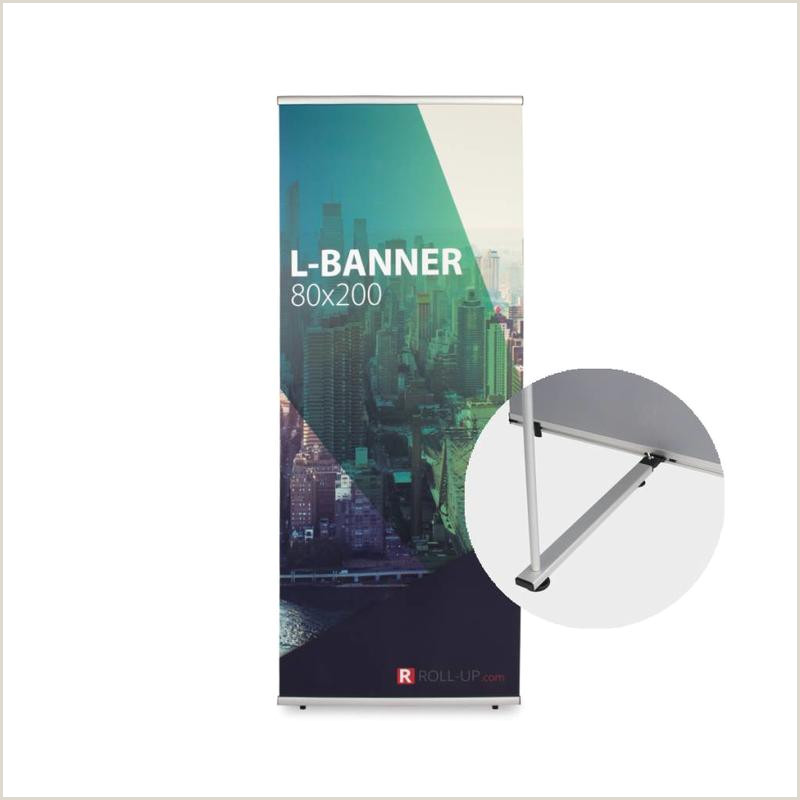 Cheap Retractable Banner Order And Print L Banner Roll Up