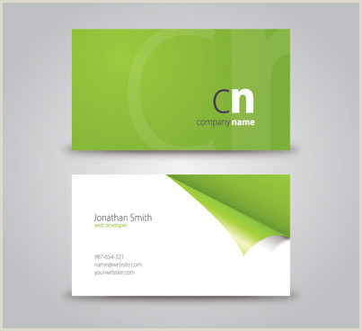 Churning Best Business Cards Rounded Corner Business Card Designs Free Vector