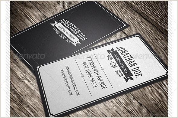 Classic Business Cards 41 Nice Retro Vintage Business Card Psds – Desiznworld