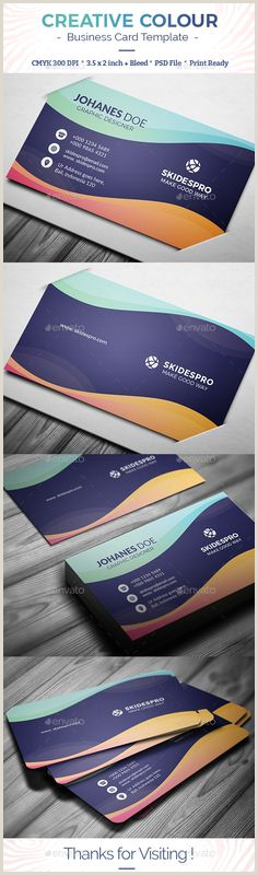 Clean Business Card Design 500 Best Business Card Templates Images In 2020