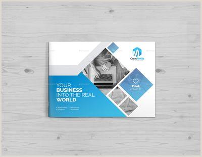 Clean Business Card Design Business Landscape Brochure