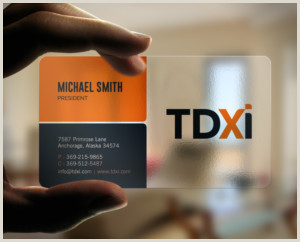 Clean Business Card Design Clean Business Cards
