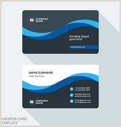 Clean Business Card Design Cleaning Business Card Vector Over 73 000