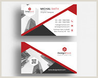 Clean Business Card Design Corporate Business Card