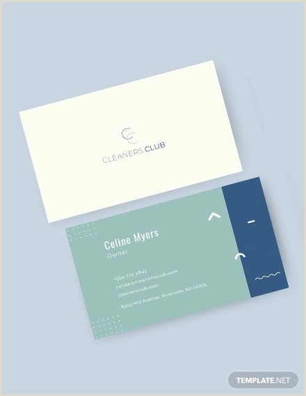 Cleaning Services Business Cards Examples 9 Cleaning Business Card Templates Pages Word Psd Ai