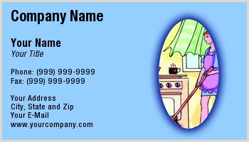 Cleaning Services Business Cards Examples Cleaning Service Business Cards