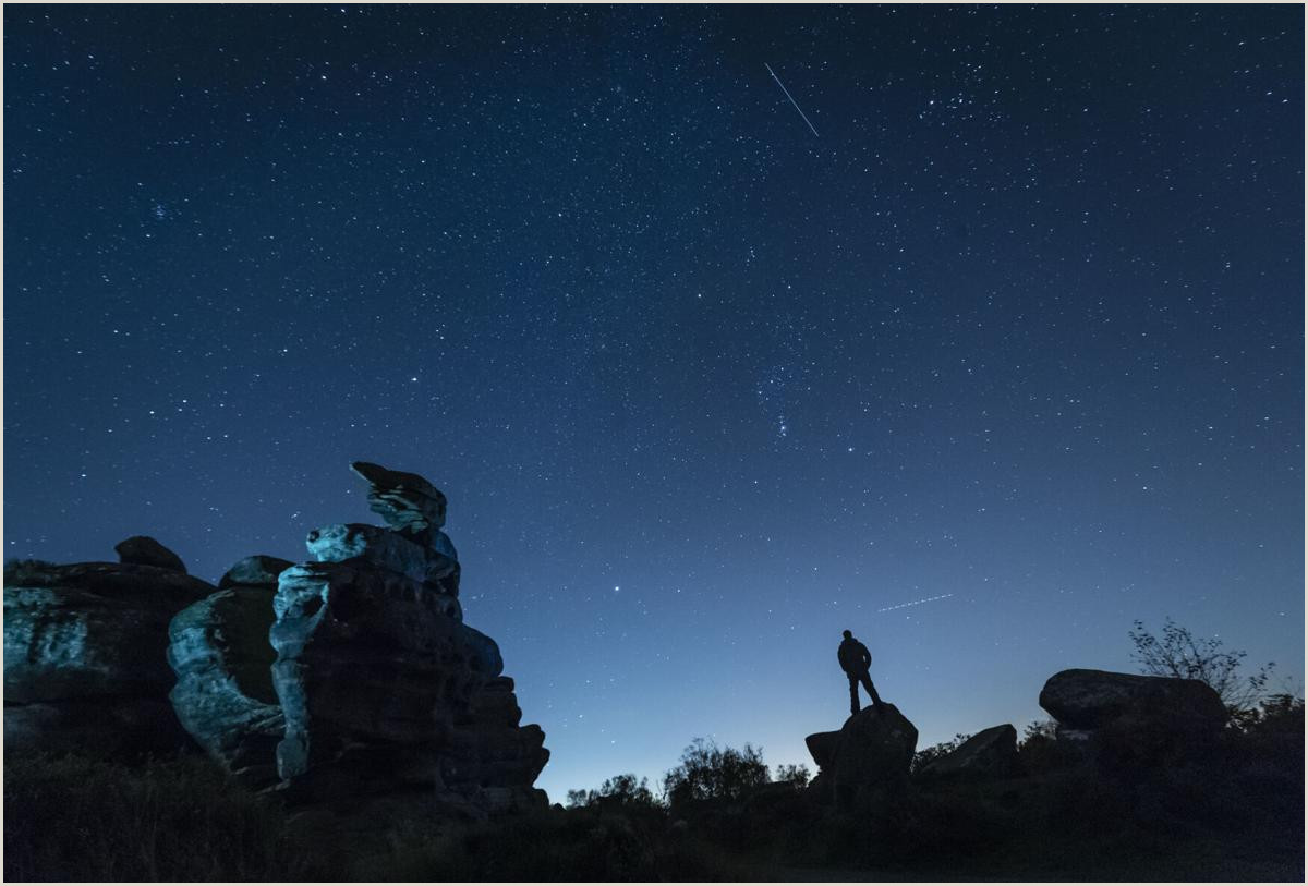Clever Places To Leave Business Cards The Orionid Meteor Shower Peaks This Week Here S How And