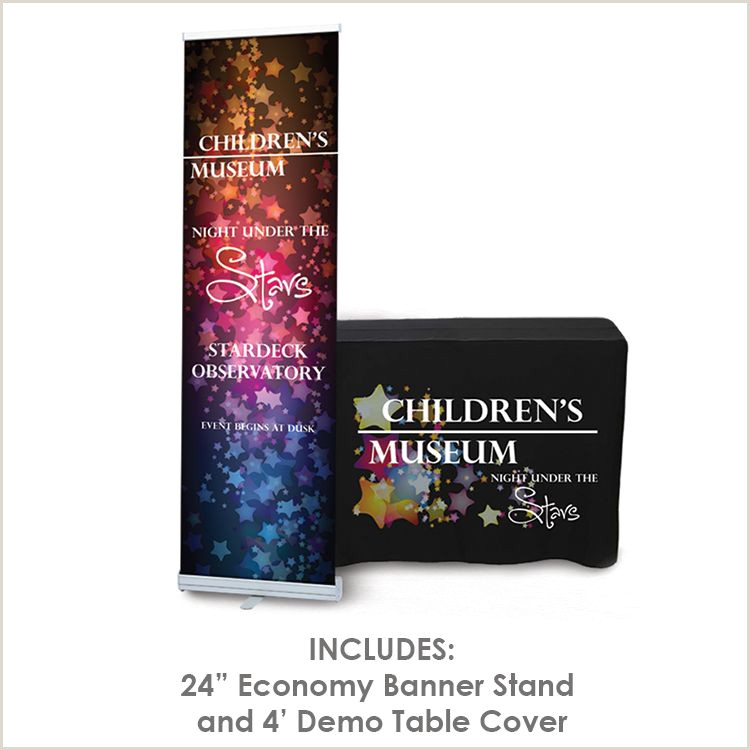 Collapsible Banner Stands Demo Trade Show Package Totally Promotional