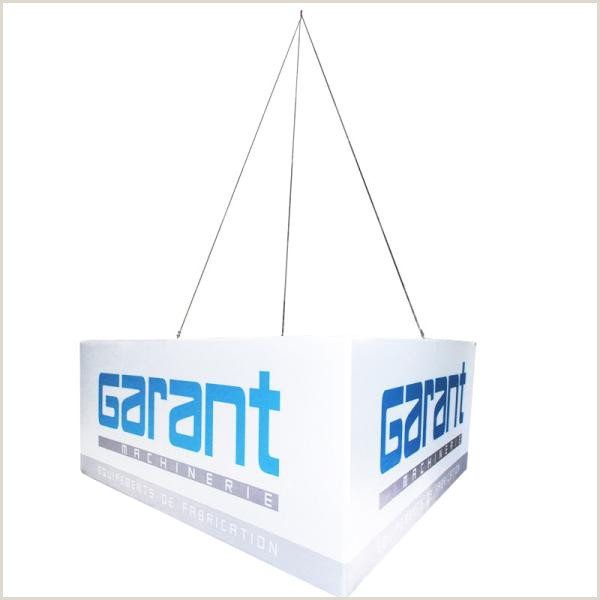 Collapsible Banner Stands Hanging Tube Fabric Trade Shows Digital Printing Triangle