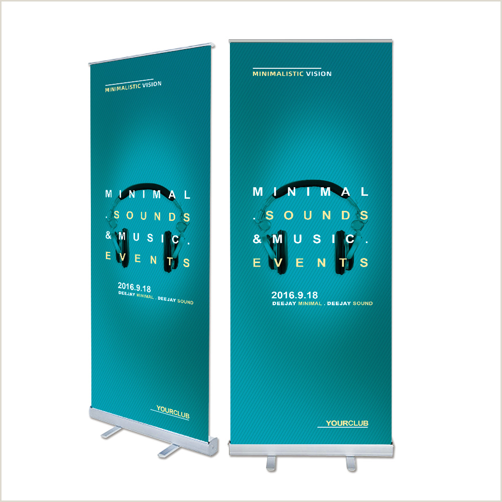 Collapsible Banner Stands [hot Item] Aluminum Retractable Banner Stand Broad Base Roll Up Banner For Advertising