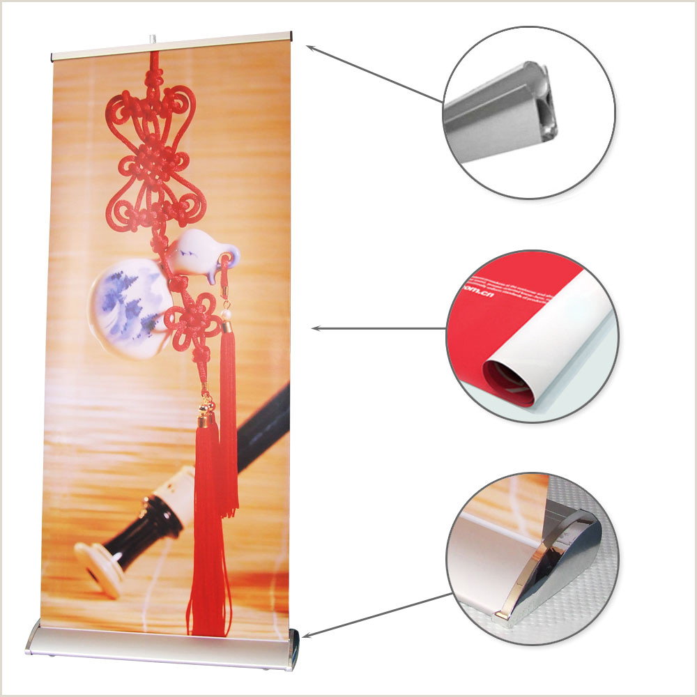 Collapsible Banner Stands Roll Up Banner Stand Order Line