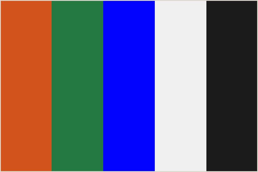 Color Buisness Cards Business Card Color Palette