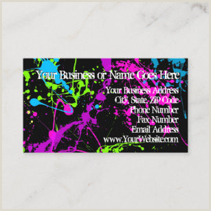 Color Buisness Cards Color Code Business Cards Business Card Printing