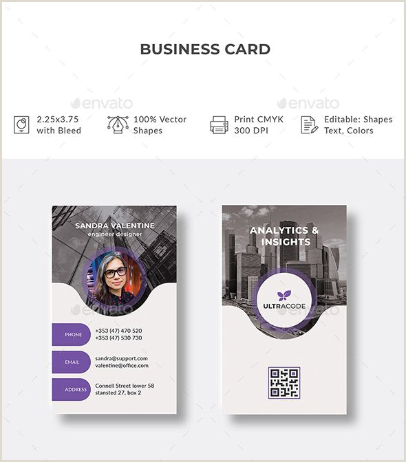Colors Business Cards Business Card