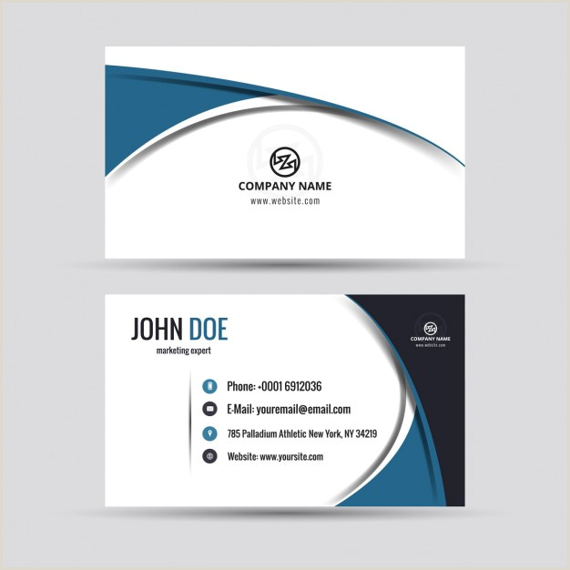Company Cards Design Download Vector Pany Card In Modern Style Vectorpicker