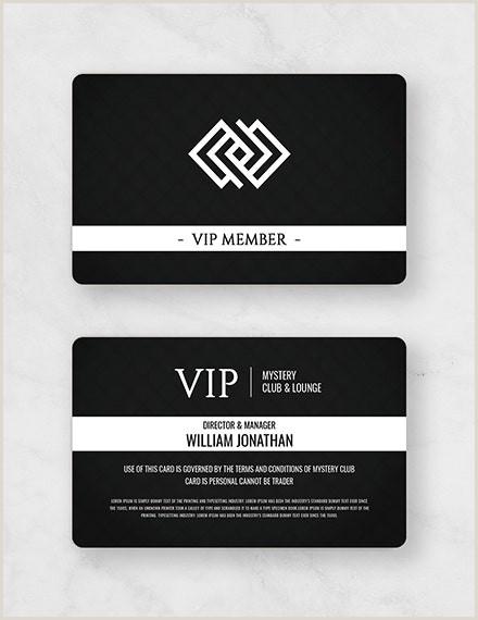Complimentary Card Template 10 Membership Card Templates