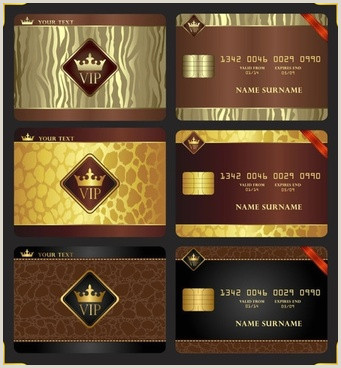 Complimentary Cards Designs Design Membership Cards Free Vector 13 790 Free