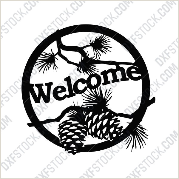 Conference Welcome Sign Wel E Sign Design Files Eps Ai Svg Dxf Cdr
