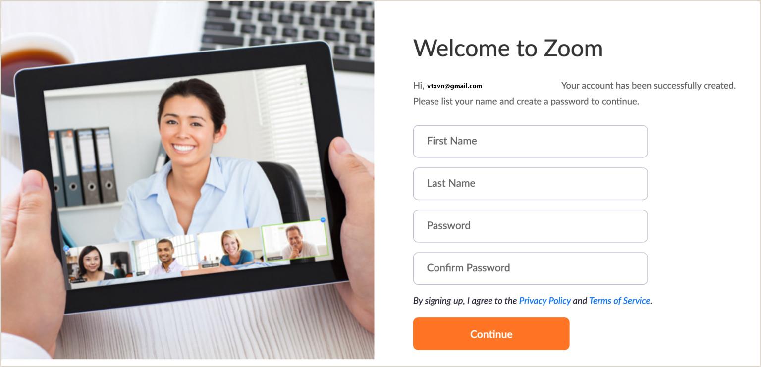 Conference Welcome Sign Zoom Cloud Meetings Nhá ¯ng Điá u Chắc Chắn Bạn Cần Phải Biết