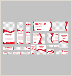 Convention Banner Size Banner Size Standard Web Vector Over 330
