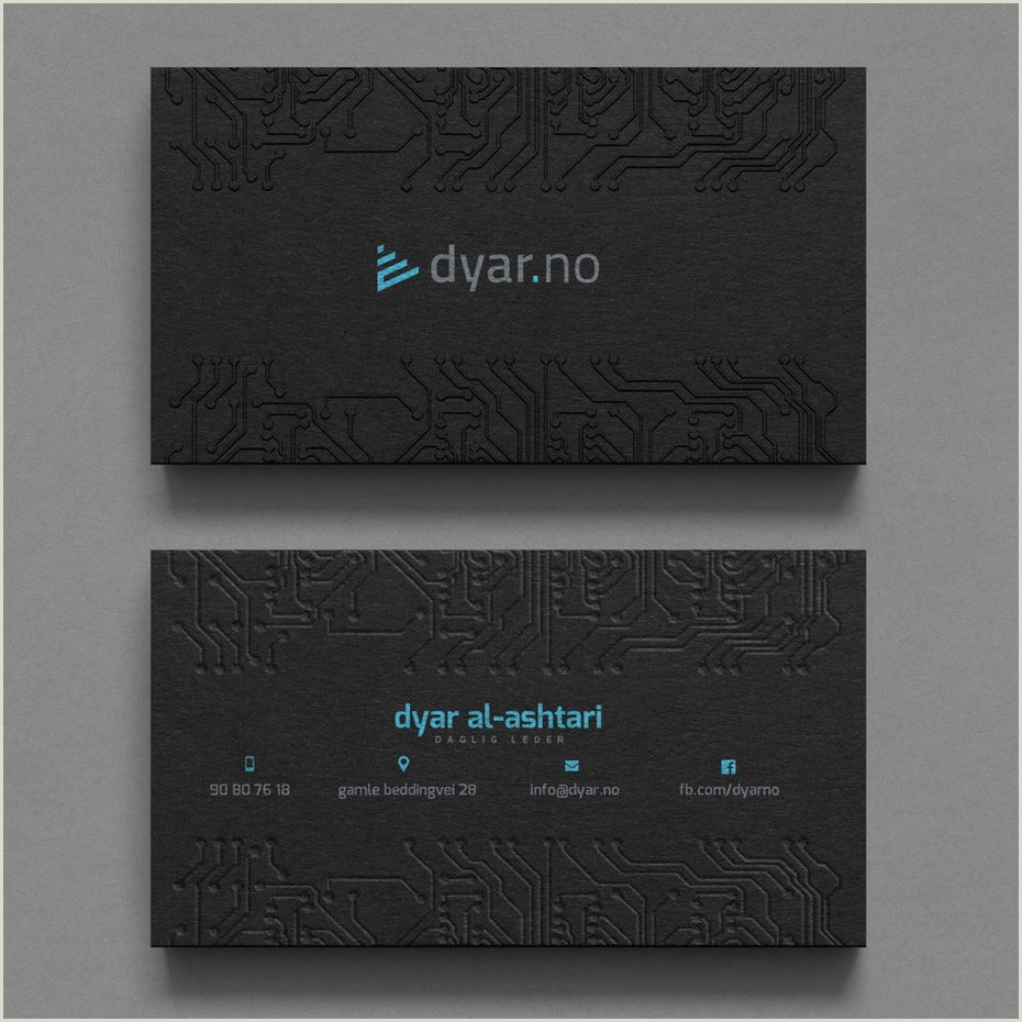 Cool Buisness Card Designs 28 Top Business Card Ideas That Seal The Deal