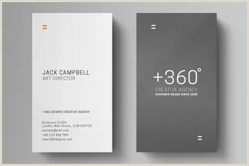 Cool Business Card Templates 100 Free Creative Business Cards Psd Templates