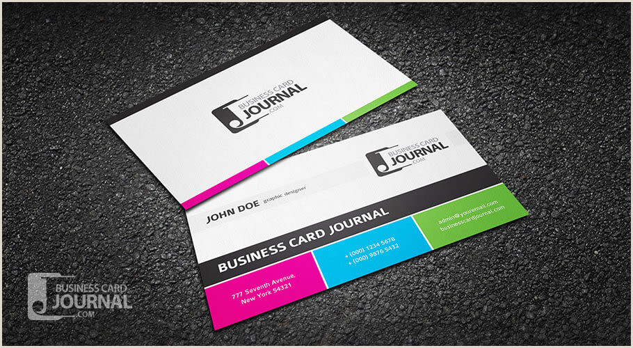 Cool Business Card Templates 75 Free Business Card Templates That Are Stunning Beautiful