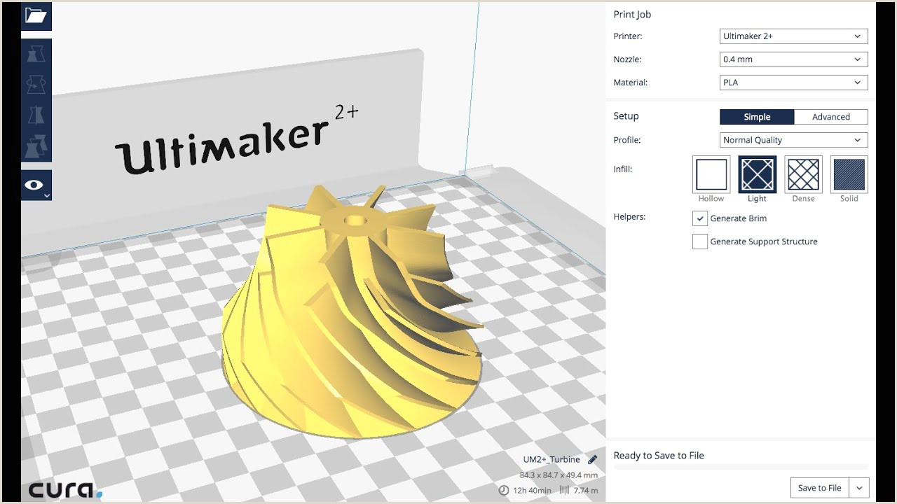 Cool Designs For Cards Get Started With Cura For 3d Printing Ultimaker Cura Tutorial