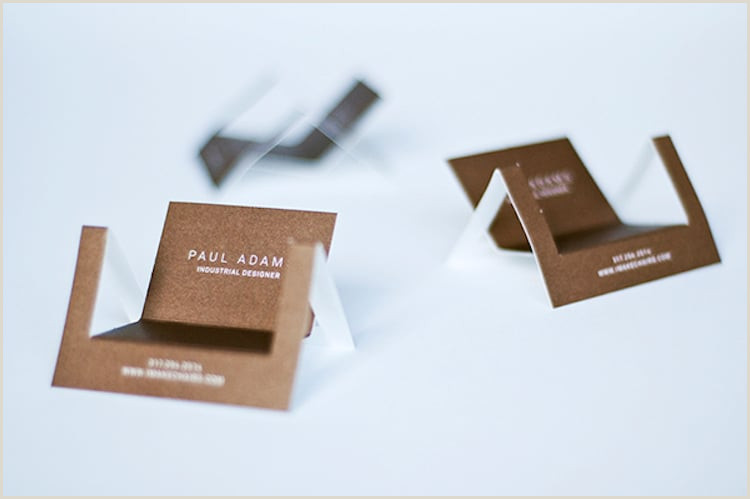 Cool Looking Business Cards 40 Cool Business Card Ideas That Will Get You Noticed