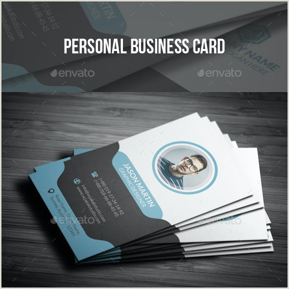 Cool Personal Business Cards Personal Business Card Templates & Designs From Graphicriver