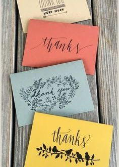 Cool Thank You Card Designs 100 Thank You Card Images