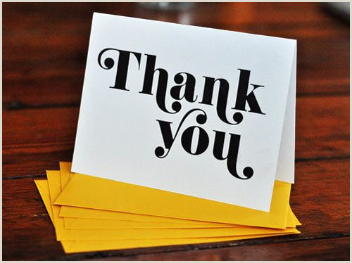 Cool Thank You Card Designs 30 Modern Thank You Cards