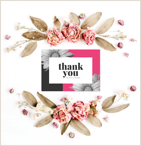 Cool Thank You Card Designs 30 Thank You Card Ideas Canva