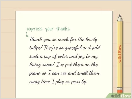 Cool Thank You Card Designs How To Write A Thank You Card For Flowers 12 Steps