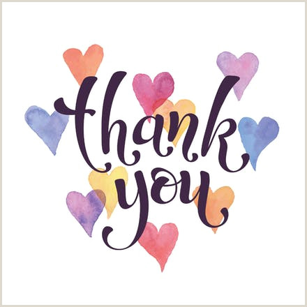 Cool Thank You Card Designs Thank You Card Templates Free