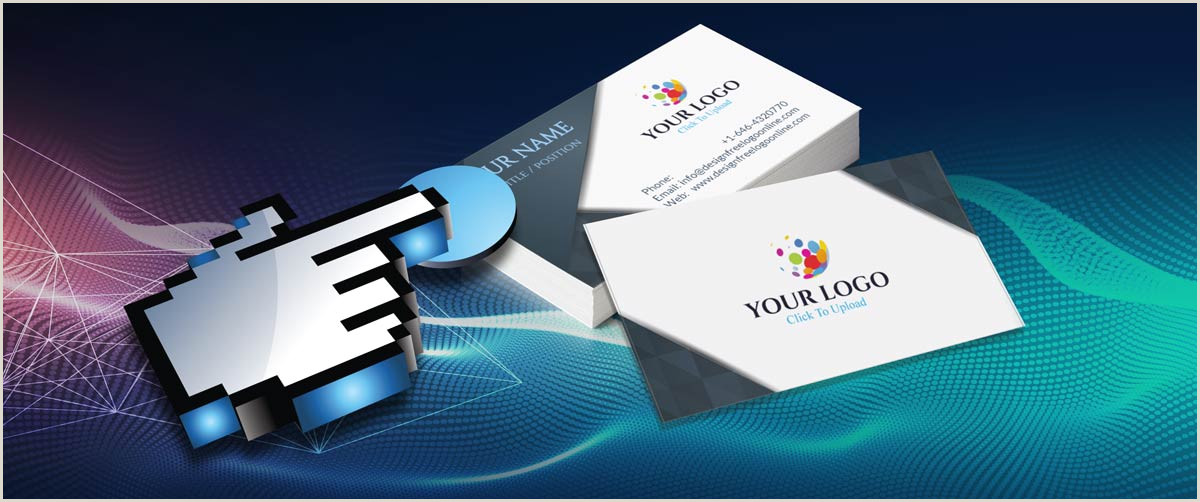 Create A Free Business Card Create Your Own Business Cards With The Free Business Card Maker