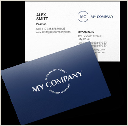 Create Own Business Card Logaster