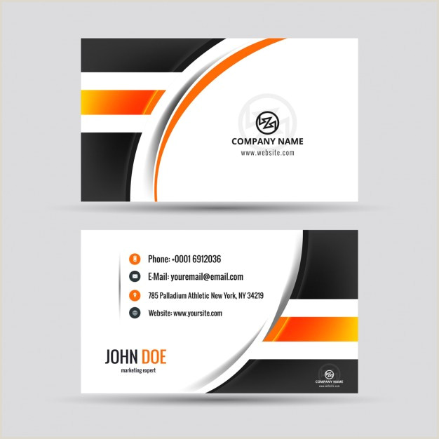 Create Visiting Card Download Vector Modern Visiting Card With Octagon