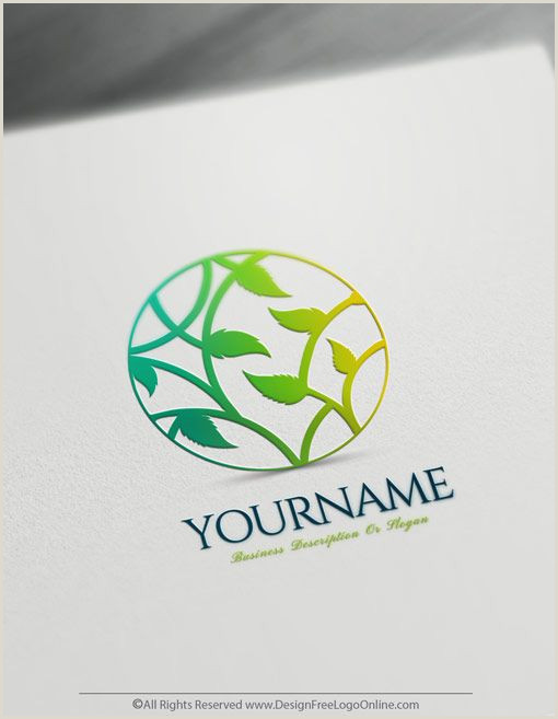 Create Your Own Playing Cards Online Free Create A Tree Logo Free Line Leaf Logo Maker