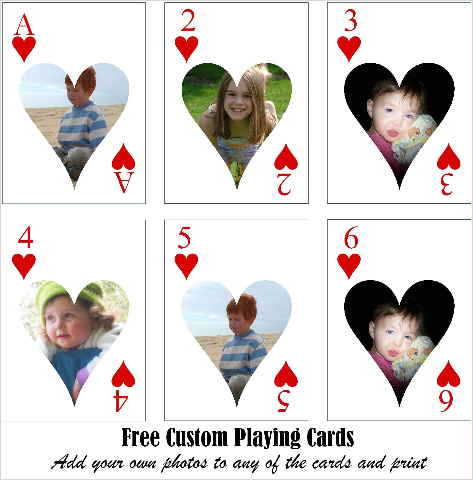 Create Your Own Playing Cards Online Free Free Printable Custom Playing Cards