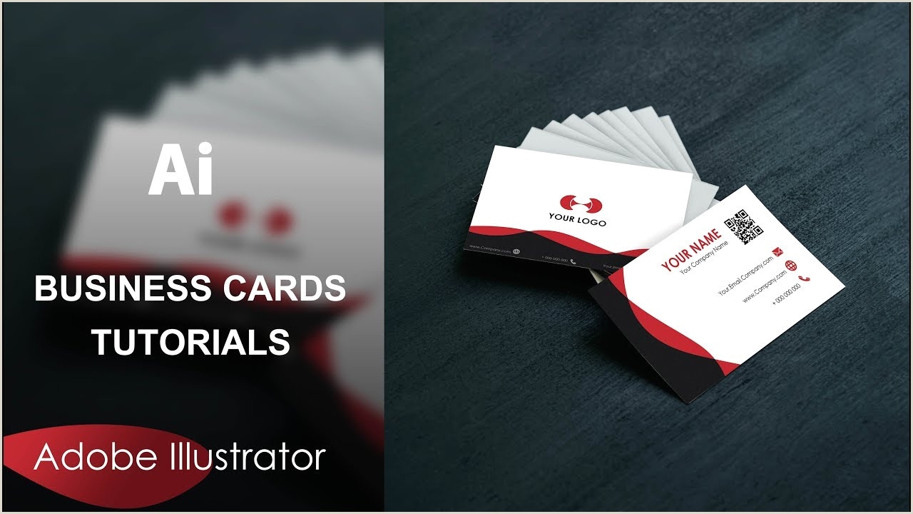 Creating A Business Card In Illustrator How To Create A Simple Business Cards With Adobe Illustrator Freedownload