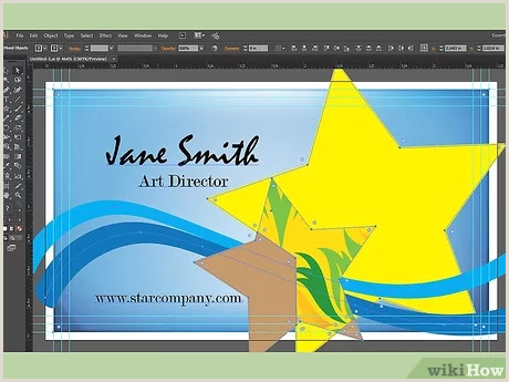 Creating A Business Card In Illustrator How To Make A Business Card On Adobe Illustrator 10 Steps