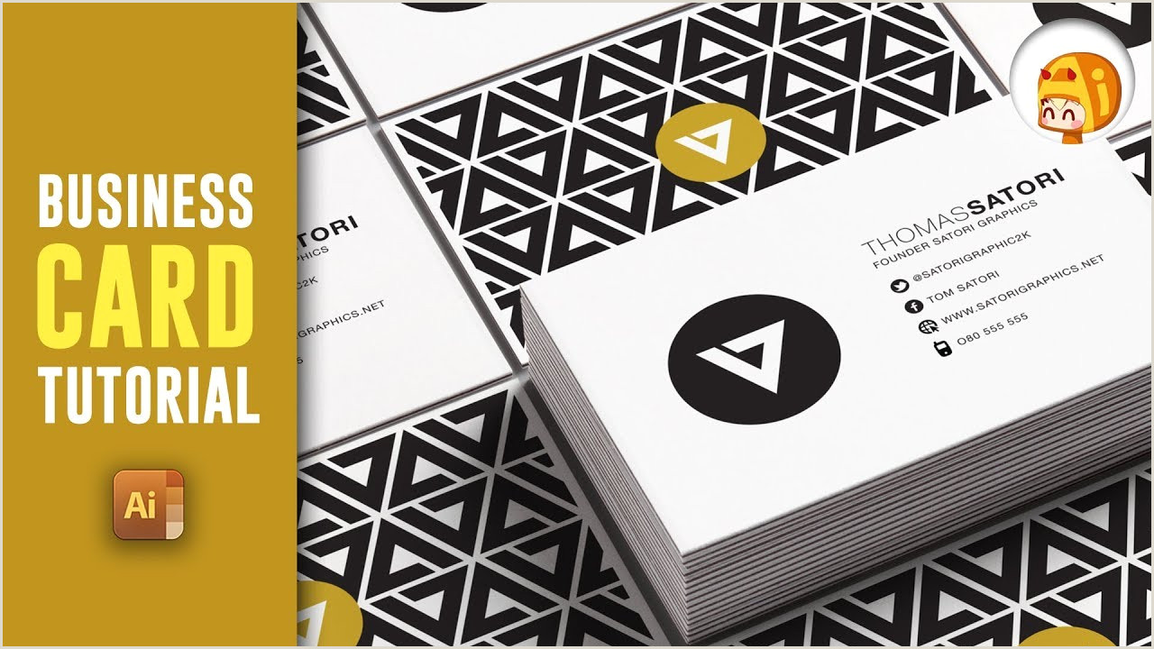 Creating A Business Card In Illustrator How To Make A Professional Business Card In Illustrator