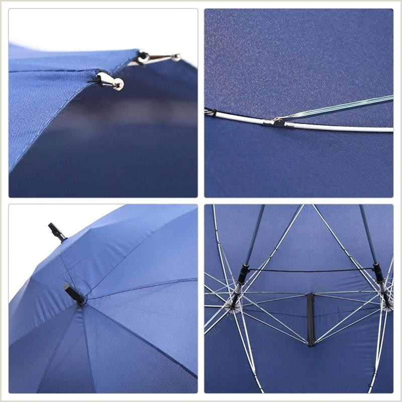 Creative Business 2020 Creative Fashion Two Pole Couple Umbrella Pure Color