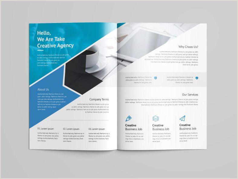 Creative Business Bi Fold Menu Template